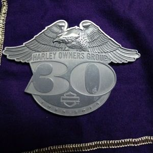 HARLEY OWNERS GROUP MEDALLION